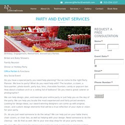 Anniversary Party Planner