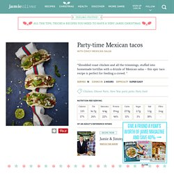Party-time Mexican tacos