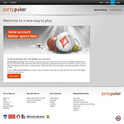PartyBets.com - Des paris aux cotes exceptionnelles - Football -