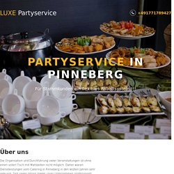 ᐉ Partyservice in Pinneberg ● Catering