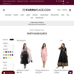 Party Wear Kurtis - Buy Designer Partywear Kurtis Online