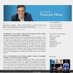 """Interview au Figaro : """"Nous parviendrons à sortir de cette crise grâce à notre sang-froid et par notre volontarisme"""""""