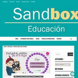 Pasapalabra con Opciones – Sandbox Educación