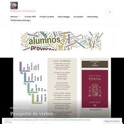 Pasaporte de verbos – adriana sturesson