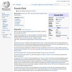 Pascale Clark