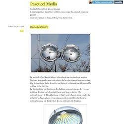 Pascucci Media - Ballon solaire