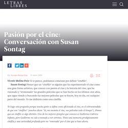 Pasión por el cine: Conversación con Susan Sontag