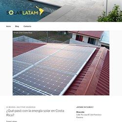 Energia solar Costa Rica - Solarlatam.com