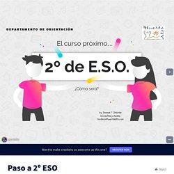 Paso a 2º ESO by teresa.noelia on Genially