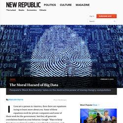 Pasquale's 'Black Box' Challenges a Digital Sphere Run by Algorithms