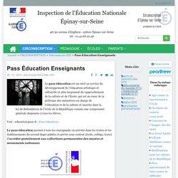 Pass Éducation Enseignants