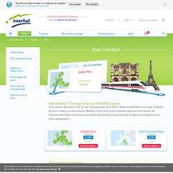 InterRail Pass - Voyages illimités en train en Europe