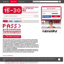 Pass Prévention Contraception