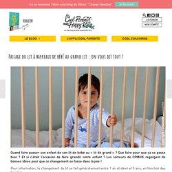 Passage du lit à barreaux de bébé au grand lit : on vous dit tout !