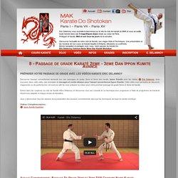 8 - Passage de grade Karaté 2eme - 3eme Dan Ippon Kumite Avance