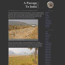 A Passage To India - Location-Notes, Photos, and Maps of the Barabar Caves near Gaya, Bihar