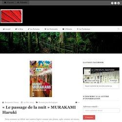 « Le passage de la nuit » MURAKAMI Haruki