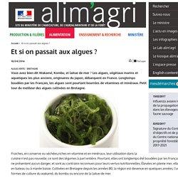 MAAF 18/04/16 Et si on passait aux algues ?