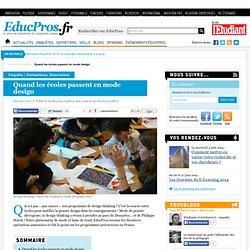 Quand les écoles passent en mode design - Enquête sur Educpros