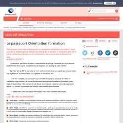 Le passeport Orientation formation
