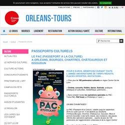Passeports culturels - Orleans-Tours