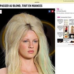 Passer au blond, tout en nuances