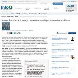 Passer des SGBDR à NoSQL. Entretien avec Dipti Borkar de Couchbase