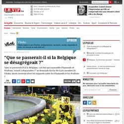 """""""Que se passerait-il si la Belgique se désagrégeait ?"""""""