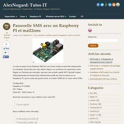Passerelle SMS avec un Raspberry PI et mail2sms