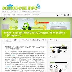 FHEM : Passerelle EnOcean, Oregon, DI-O et Blyss ... [Chapitre I]