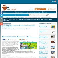 France TV Education, une passerelle d'aide scolaire entre parents, élèves et professeurs