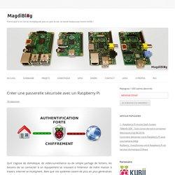 Passerelle sécurisée avec un Raspberry Pi - MagdiBlog
