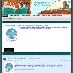 Le blog du prix Passerelle(s) » Un site utilisant Blogs en classe du CRDP du Limousin