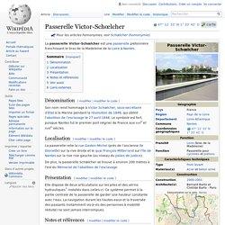 Passerelle Victor-Schœlcher