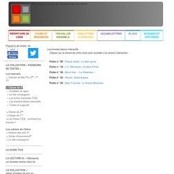 WebLettres - Passeurs de textes 3e