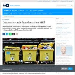 Das passiert mit dem deutschen Müll