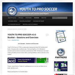 YOUTH TO PRO SOCCER