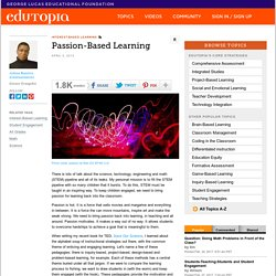 Passion-Based Learning