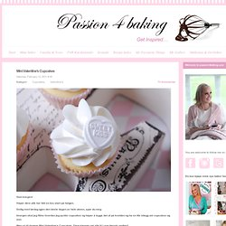 Passion 4 baking » Mini Valentine's Cupcakes
