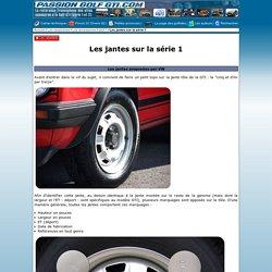 www.passiongolfgti.com - Les ressources - Les accessoires - Golf 1 - Les jantes sur la série 1