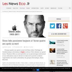 Steve Jobs passionne toujours à l'écran quatre ans après sa mort