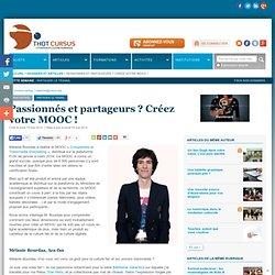 Passionnés et partageurs ? Créez votre MOOC !