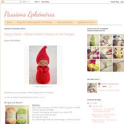 Sleepy Sarah - Patron Crochet Gratuit et en Français