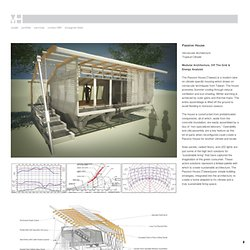 Passive House - Myriad Harbor