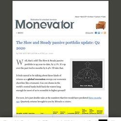 The Slow and Steady passive portfolio update: Q2 2020