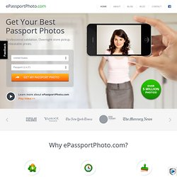 ePassportPhoto - the quickest and easiest way to get a valid passport photo!