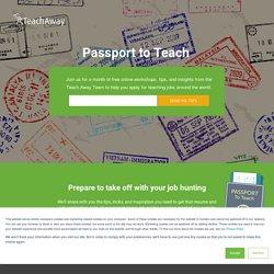 Passport to Teach 2017