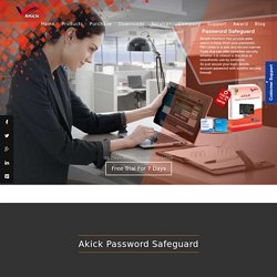 Akick - Helpful Password Protection Software