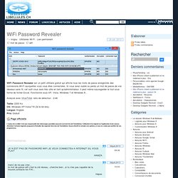 WiFi Password Revealer