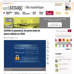 123456 et password, les pires mots de passe utilisés en 2014